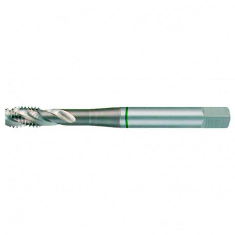 Taraud à métaux DIN 371 HSS M35 5% Cobalt M8 x 1.25 x Lu. 10 x Lt. 90 x Q. 8 mm - SR234080 - Labor