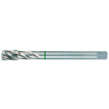 Taraud à métaux DIN 376 HSS M35 5% Cobalt M18 x 2.5 x Lu. 22 x Lt. 125 x Q. 14 mm - ST233180 - Labor