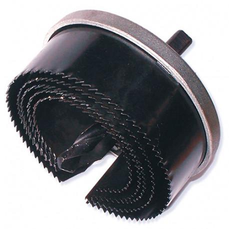 Set de 5 scies cloches D. 60 à 95 mm x Ht. 38 mm - BE-588040 - Diamwood