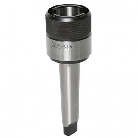 Adaptateur CM3 mandrin grand porte taraud M7 à M25 - 20598103 - Sidamo