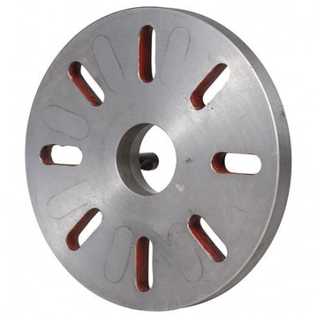 Plateau de broche D. 220 mm pour tours métaux TP 550 - 21398114 - Sidamo