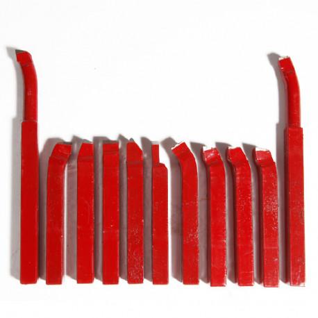 Jeu de 11 outils de coupe carre 12 x 12 mm - 21398133 - Sidamo