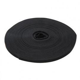 Ruban auto-agrippant noir 13 mm x 25 M - 666014 - Fixman