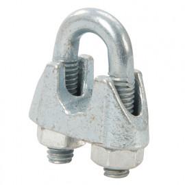 10 attaches de câbles métalliques M4 - 709034 - Fixman