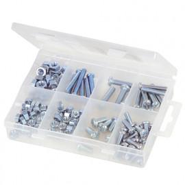 Coffret de vis à métaux et écrous 105 pcs - 804223 - Fixman