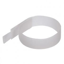 10 serre-câbles nylon auto-agrippants L. 150 mm - Blanc - 849309 - Fixman