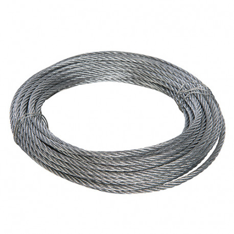 Câble métallique galvanisé 6 mm x 10 M - 858237 - Fixman