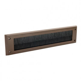 Brosse de calfeutrage pour fente de porte à clapet 338 x 78 mm - Blanc - 916133 - Fixman