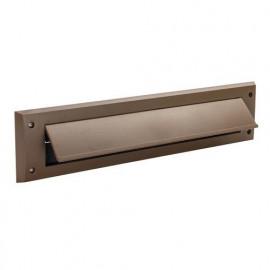 Brosse de calfeutrage pour fente de porte à clapet 338 x 78 mm - Marron - 964360 - Fixman