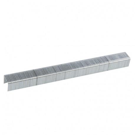 Lot de 5 000 agrafes galvanisées 10J 11,2 x 10 x 1,16 mm - 983163 - Fixman