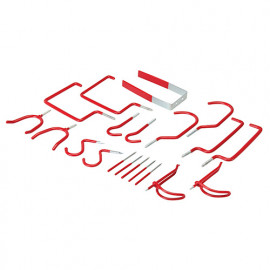 Crochets 20 pcs de rangement assortis - 994116 - Fixman