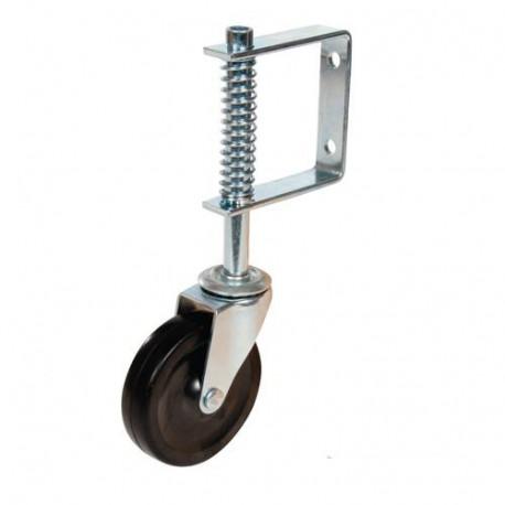 Roulette pour portail D. 100 mm - 57 kg - 455654 - Fixman