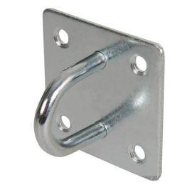 Cadène en acier galvanisé 50 x 50 mm type agrafe - 566783 - Fixman