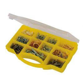 Coffret de crochets pour cadres et autres fixations 545 pcs - 470424 - Fixman