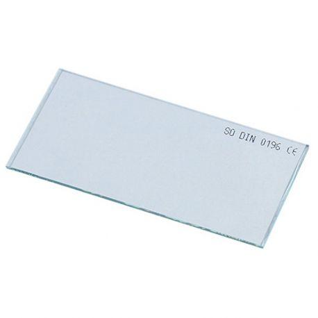 Verre incolore 105 x 50 mm pour masque de soudage - 20398063 - Sidamo