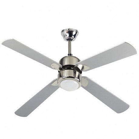 Ventilateur de plafond FIJI 122cm 4 pales 60 W 230 V - 112426 - Fartools