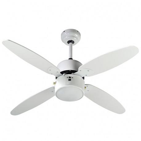 Ventilateur de plafond SAMOA 107cm 4 pales 50 W 230 V - 112427 - Fartools
