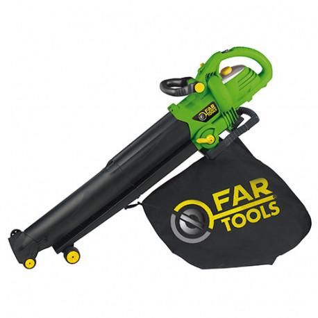 Aspirateur souffleur 840 m3/HAB 2600 2800 W 230 V - 175043 - Fartools