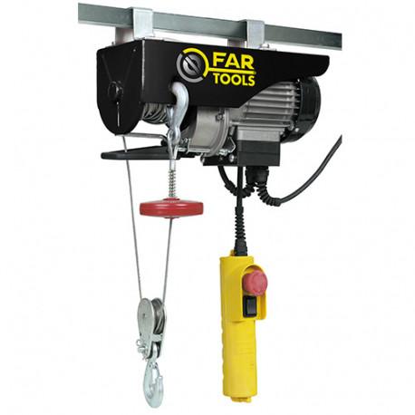 Palan électrique 250 Kg max. EP500 500 W 230 V - 182002 - Fartools