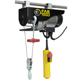Palan électrique 400 Kg max. EP 750 1000 W 230 V - 182004 - Fartools