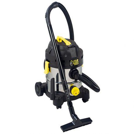 Aspirateur eau et poussières 20L NET-UP20IB 1400 W 230 V - 101027 - Fartools