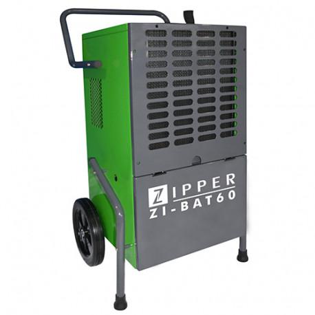 Déshumidificateur d'air 60 à 80 m2 680 M3/H 230 V 1030 W - ZI-BAT60 - Zipper