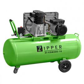 Compresseur d'atelier 200 litres 230 V 2200 W - ZI-COM200-10 - Zipper