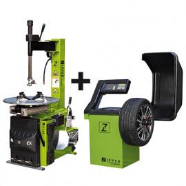 Pack équilibreuse de roues RWM99 et changeur de pneus RMM95 230V - ZI-PACKRWM99RMM95 Zipper