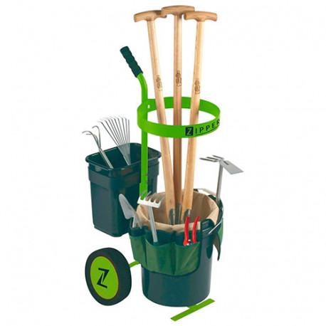 Chariot d'outils de jardinage (sans outils inclus) - ZI-UVGW1 - Zipper