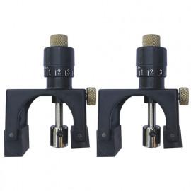 Jeu de 2 régleurs de fers magnétiques pour arbre D. 65 à 130 mm - Diamwood