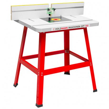 Table support de défonceuse 810 x 610 mm - OFT102 - Holzmann