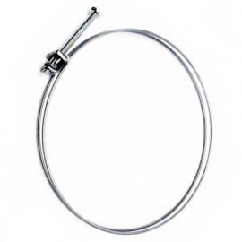 Collier de serrage double fil acier D. 148 à 155 mm pour tuyau flexible d'aspiration - CDF148-155 - Aev-Flex