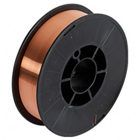 Bobine 5 Kg fil d'acier 0,8 mm - 802396 - Telwin