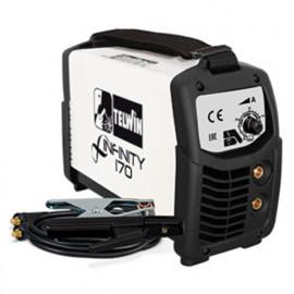 Poste à souder INVERTER MMA TIG 135A 230V INFINITY 170 avec accessoires - 816080 - Telwin