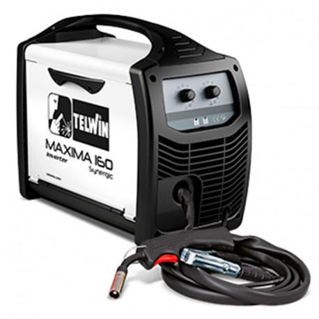 Poste à souder INVERTER MIG MAG 150A 230V MAXIMA 160 SYNERGIC - 816085 - Telwin