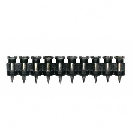 1000 clous charges pour cloueur Shooter60 et Pulsa400 2,6 x 40 mm + 1 cartouche de gaz - FGCL40 - Index