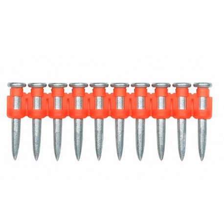 1000 clous charges pour cloueur à gaz Shootex60 3,1 x 17 mm + 1 cartouche de gaz - FGCLH17 - Index