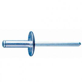 250 rivets aluminium tête large D. 4,8 x 16 mm - RECA4816 - Index