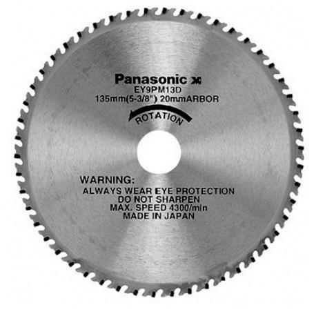 Lame acier D. 135 x 20 mm x Z 50 dents pour scie circulaire EY45A2L - EY9PM13D - Alsafix