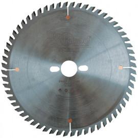 Lame de scie circulaire HM micrograin finition D. 250 x Al. 30 x ép. 3,2 mm x Z60 TP - fixtout Platinum