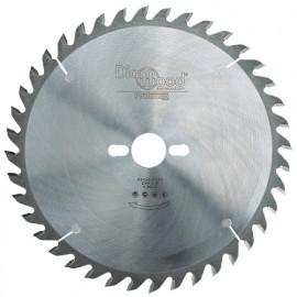 Lame de scie circulaire HM micrograin universelle D. 250 x Al. 30 x ép. 3,2 mm x Z40 Alt - fixtout Platinum