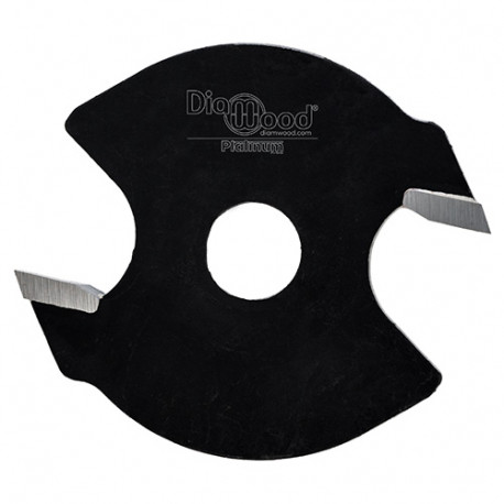 Disque à rainer D. 40 x ép. 2 x Al. 6,35 mm x Z2 - Diamwood Platinum