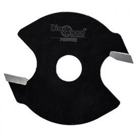 Disque à rainer D. 40 x ép. 3 x Al. 6,35 mm x Z2 - fixtout Platinum