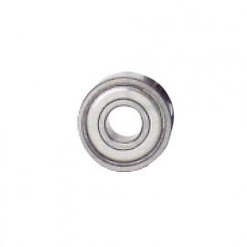 Roulement à billes acier D. 16 x Al. 6,35 x Ht. 6 mm pour arbre porte-disque à rainer - fixtout Platinum