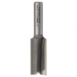 Mèche à rainer droite HM micrograin D. 12 x Lt. 51 x Lu. 19 x Q 8 mm x Z2 - fixtout Platinum
