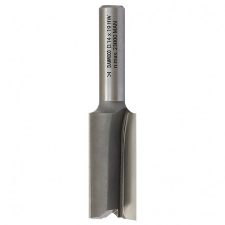 Mèche à rainer droite HM micrograin D. 13 x Lt. 51 x Lu. 19 x Q 8 mm x Z2 - fixtout Platinum