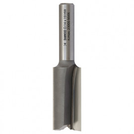 Mèche à rainer droite HM micrograin D. 18 x Lt. 64 x Lu. 32 x Q 8 mm x Z2 - fixtout Platinum