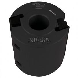 Porte-outils de toupie à moulurer D. 114 x Al. 50 x Ht. 90 mm Z 2 - fixtout Platinum