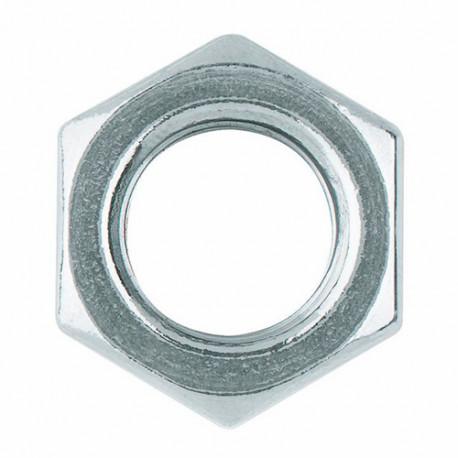 100 écrous hexagonaux M18 mm DIN-934 zingué - D93418 - Index