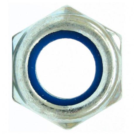 100 écrous frein autobloquant M12 mm DIN-985 zingué - DZ98512 - Index